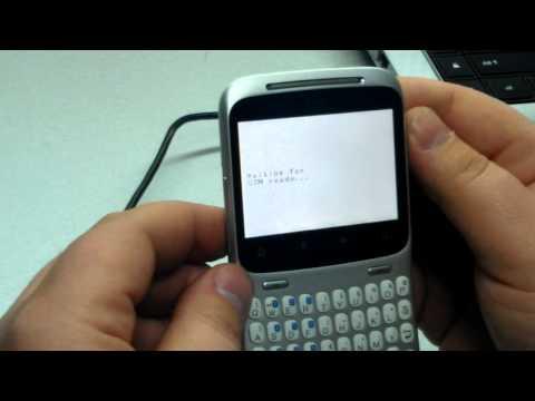 unlock htc cha cha with htc clip