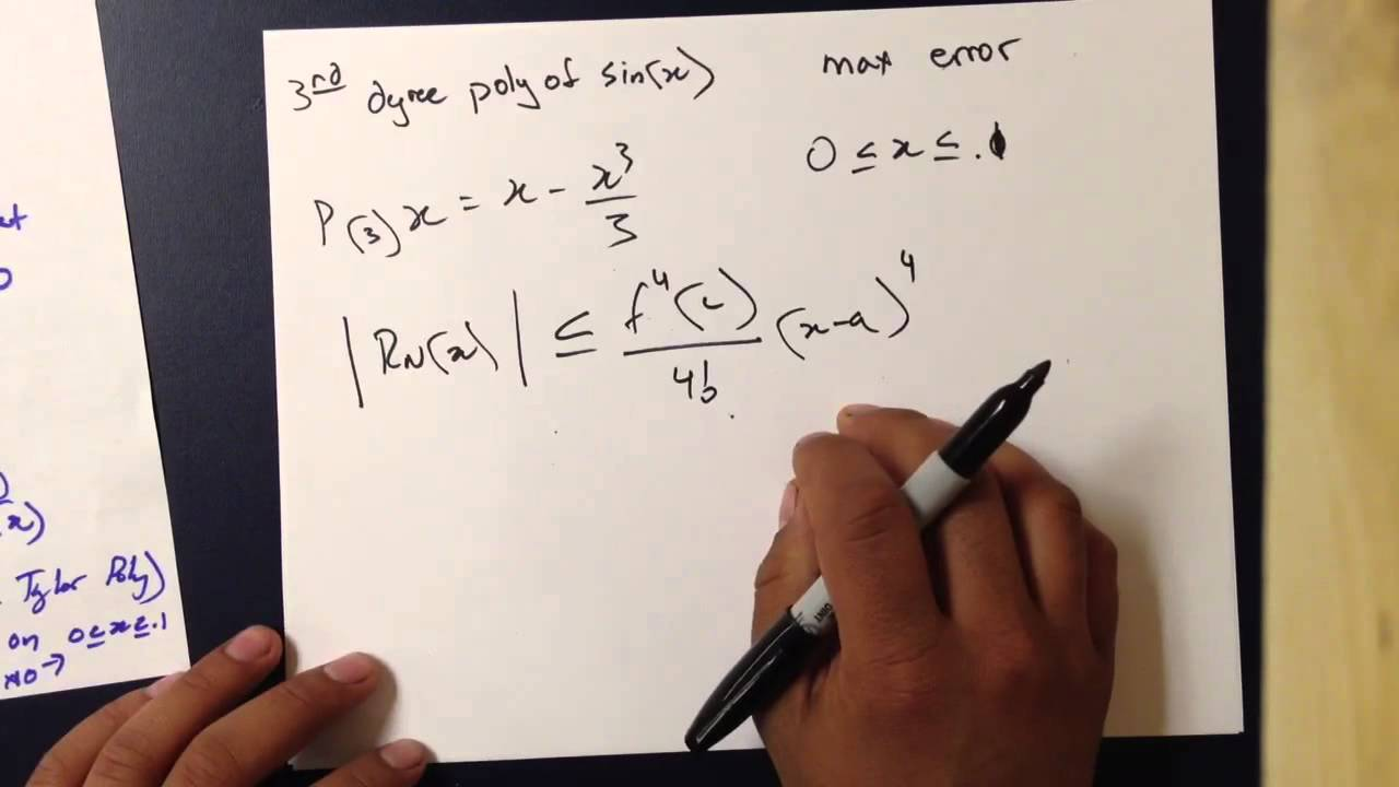 Lagrange Error Bound