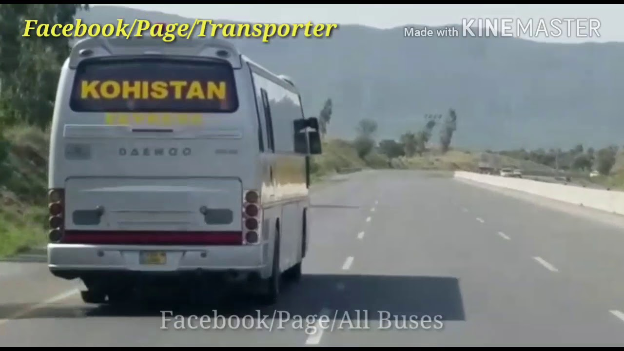 raja travels vs waraich daewoo kohistan express skyways daewoo [ 1280 x 720 Pixel ]