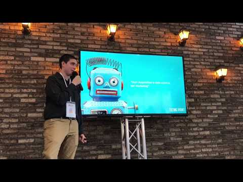 Matt Sadofsky at AGS NYC on Machine Learning and AI