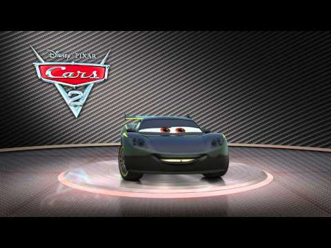 Disney Pixar CARS 2 - Lewis Hamilton Turntable