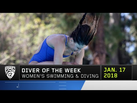 UCLA's Eloise Belanger collects Pac-12 Women's Diver of the Week honors