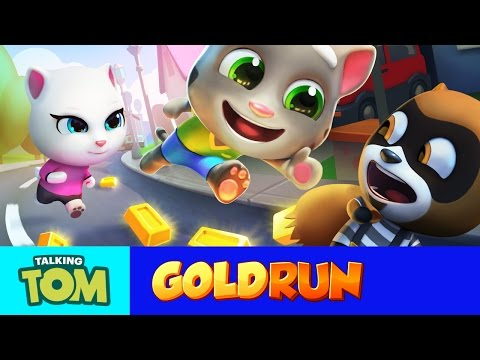Thumbnail: Talking Tom Gold Run – Friends vs. the Robber (Compilation)