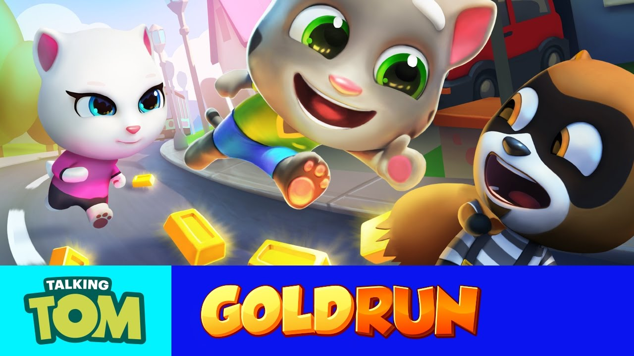 Talking tom gold run friends vs the robber compilation - My talking tom pictures ...