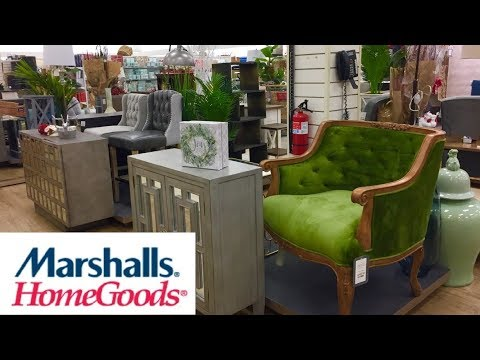MARSHALLS HOME GOODS FURNITURE ARMCHAIRS CHRISTMAS DECOR SHOP WITH ME SHOPPING STORE WALK THROUGH