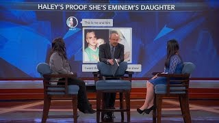 Young Woman Claims She Has Proof Rapper Eminem Is Her Father