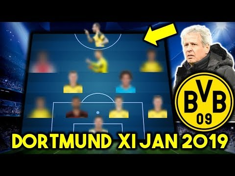 Borussia Dortmund Possible Line Up XI January 2019 Ft TRANSFERS...