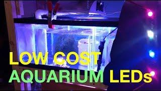 DIY High Power LED Aquarium Light