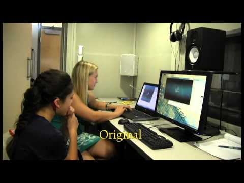 What a Cochlear Implant sounds like