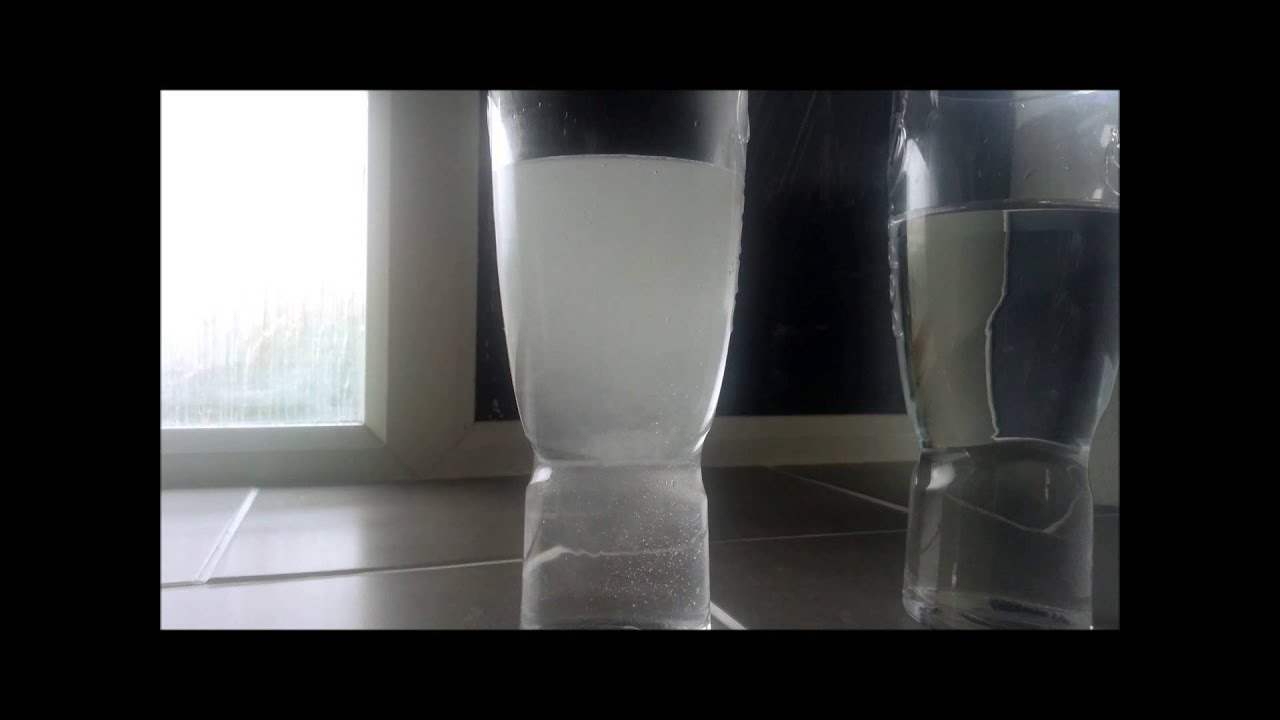 why is my water cloudy - YouTube