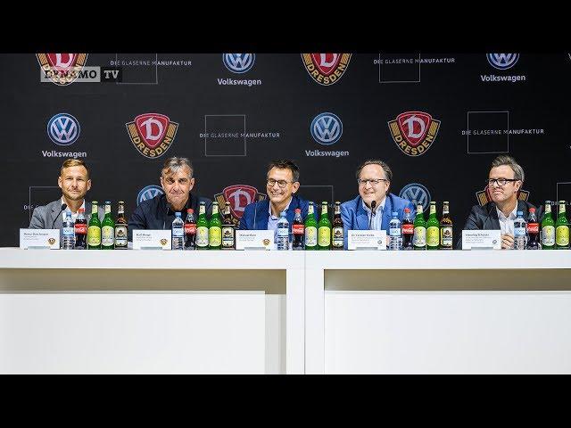 1. Spieltag | SGD - FCN | Pressekonferenz vor dem Spiel