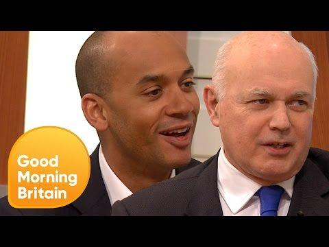 Chuka Umunna and Iain Duncan Smith Debate Upcoming General Election | Good Morning Britain
