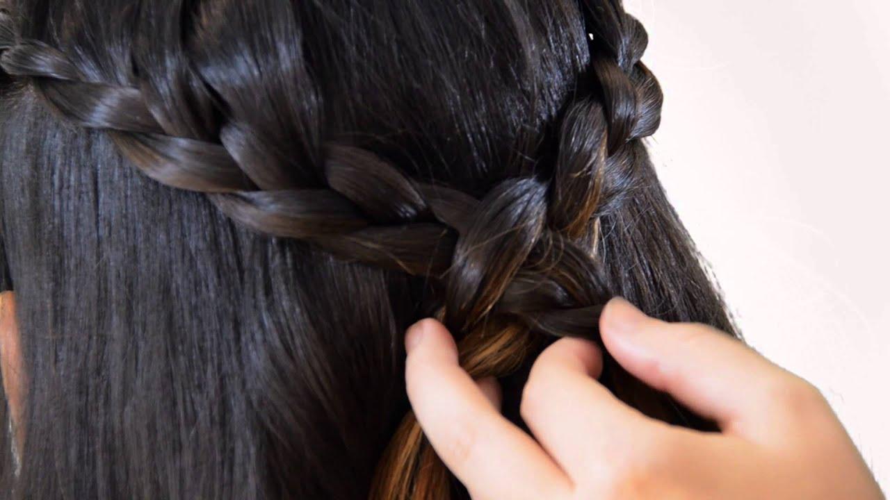Peinados con trenzas en forma de corona