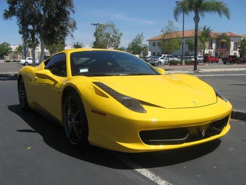 Ferrari 458 Italia Yellow