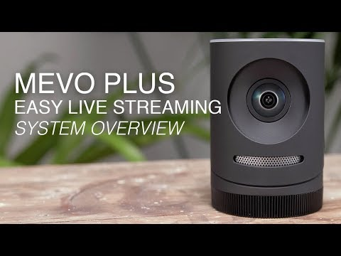 Mevo Plus  Streaming 4K Camera -  Overview and Review