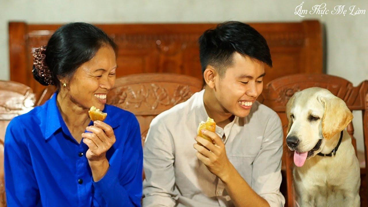Ngày mưa nhặt sấu chín dầm chua ngọt, làm bánh chuối chiên giòn ( Fried Banana Pies ) Ẩm Thực Mẹ Làm