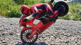 RC Motorcycle - High Speed RC Racing Motorbike - UNBOX & PLAY - Remote Control Toys, Toy for Kids