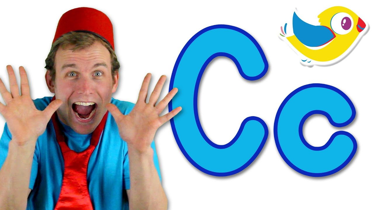The Letter C Song  Learn The Alphabet  Youtube