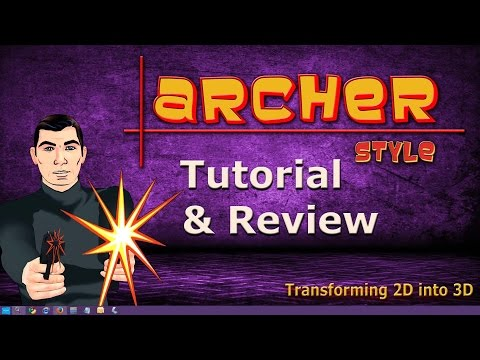 How to Create Archer Style in 3D