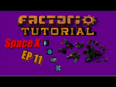 EP11 On Site Smelting - Factorio SpaceX -Tutorial - Let's Play