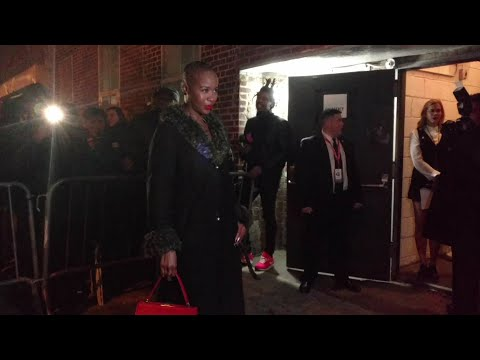 Marija Abney at Black Panther: Welcome to Wakanda NYFW Showcase