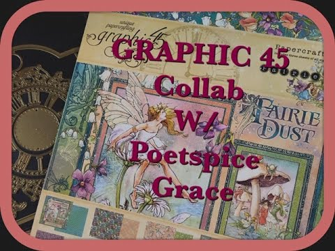 Graphic 45 Collab With Poetspice:December