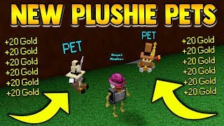 *NEW* PETS in Build a boat!! (Must see) ROBLOX