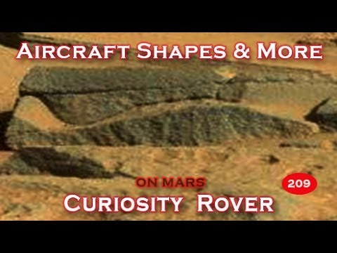 Amazing Aircraft Shapes Among Machines On Mars? Viewer Submitted