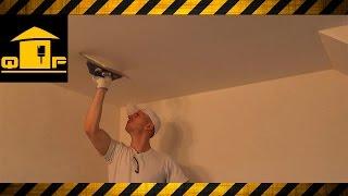 Шпаклевка потолка высокого качества   мастер класс
