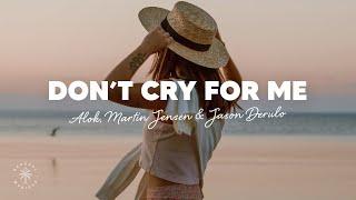 Baixar Alok, Martin Jensen & Jason Derulo - Don't Cry For Me (Lyrics)