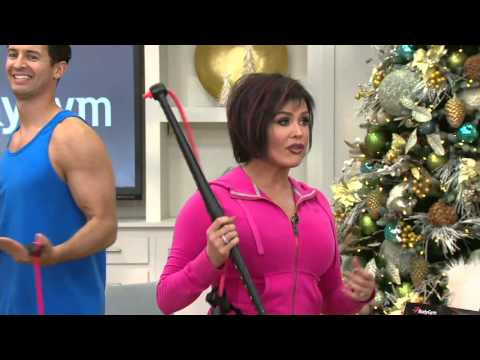 Bodygym portable home gym resistance system on qvc youtube