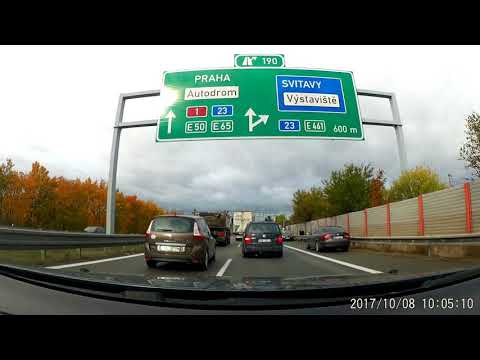 Driving  Brno - Plzen  (Czech Republic) 320km