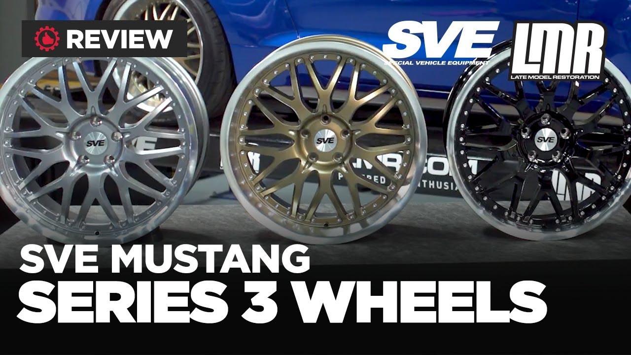 2005 2018 mustang sve series 3 wheels review