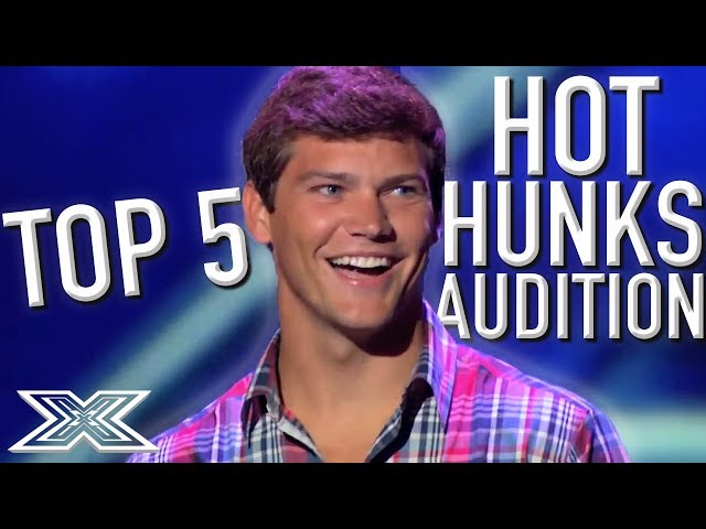 Top 5 HOT Hunks Audition for The X Factor UK and USA | X Factor Global