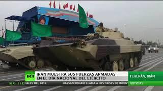 Irán presume de sus cazas de producción propia en el desfile del Día del Ejército