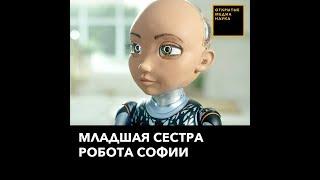 Младшая сестра робота Софии