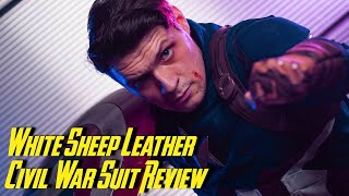 Captain America Suit Review by White Sheep Leather!