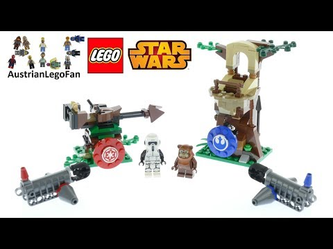 Lego Star Wars 75238 Action Battle Endor Assault Speed Build