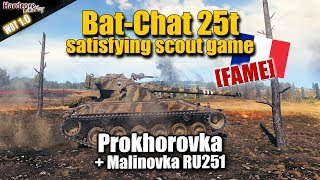 Bat.-Châtillon 25 t [FAME],  Ru 251, satisfying scout games, WORLD OF TANKS