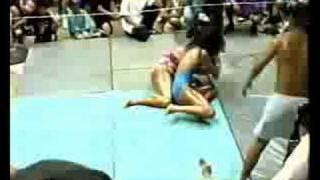 Summer Camp Female Oil Wrestling