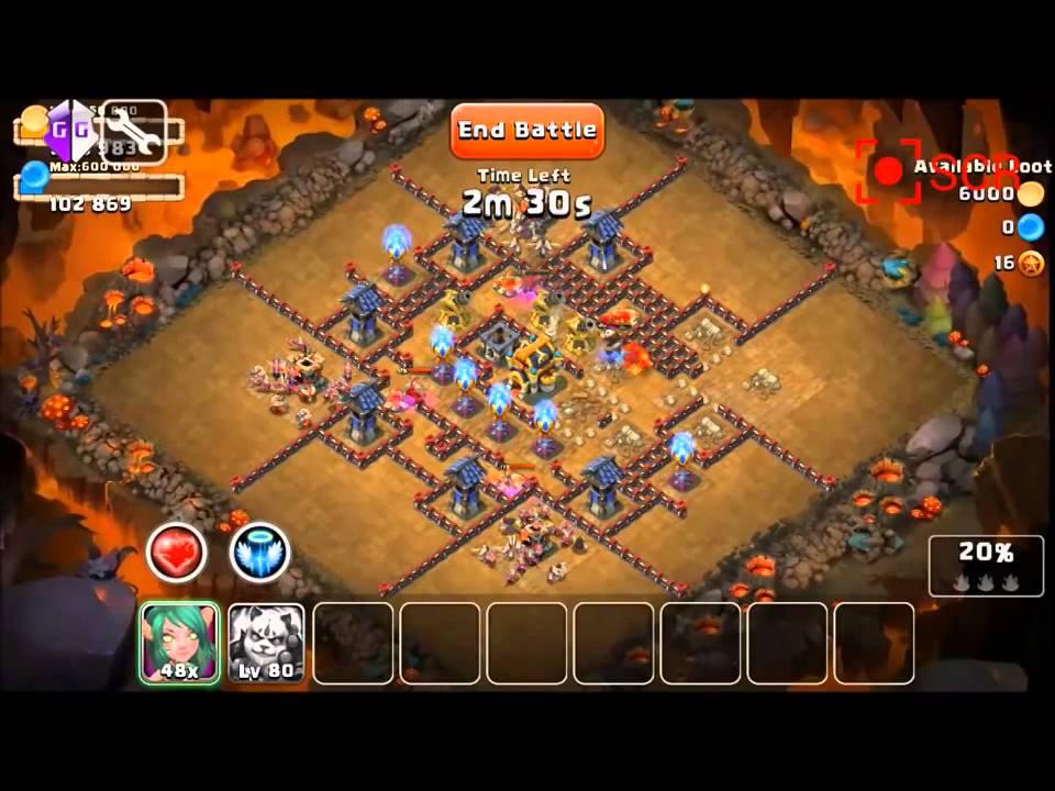 real castle clash hack mod dungeon guild fight hbm apk file