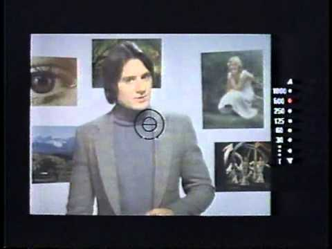 Duncan Regehr for Minolta 1980 TV commercial