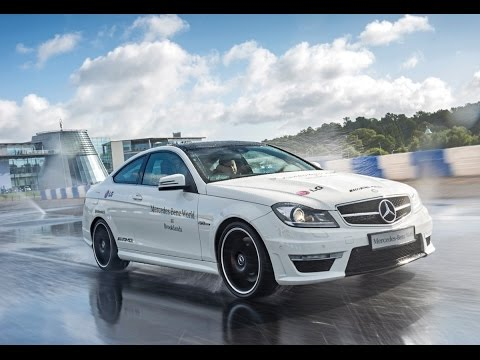 Driving & Drifting AMGs on my birthday at Mercedes-Benz World Race track