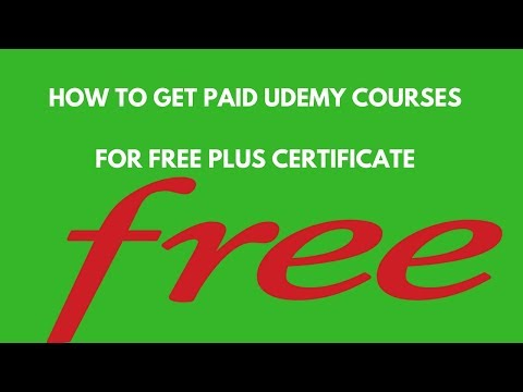 HOW TO GET UDEMY PAID COURSES FOR FREE PLUS CERTIFICATE