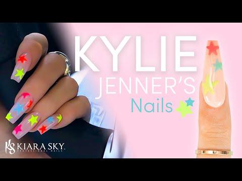 ⭐️ Re-Creating Kylie Jenner's Nails ⭐️ Using Dip Powder 💅🏼 DIY Dip Powder Design