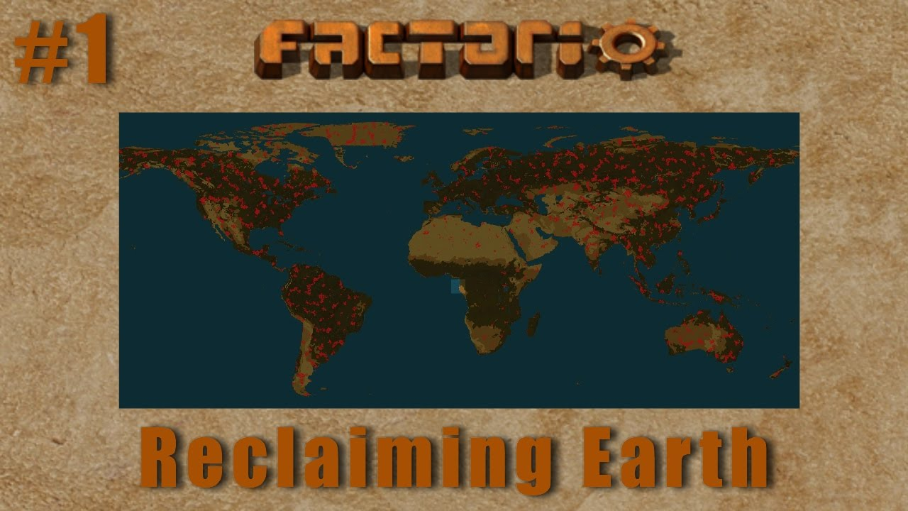 Factorio Multiplayer   Reclaiming Earth EP1 :: Initial Production