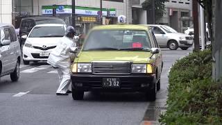 交通違反で女性警察官に捕まったのに相当ゴネまくるタクシードライバー