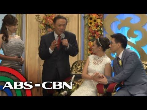 Jose Mari Chan Sings On 'Be Careful With My Heart'