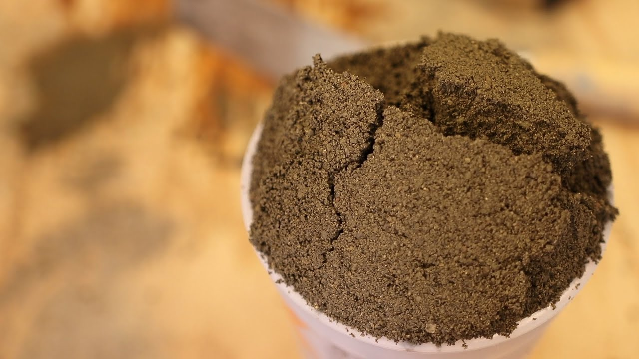 How To Make Mortar From Scratch Fat And Deck Mud For Tile Youtube