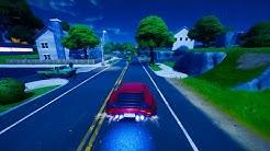 Fortnite Cars - Blinding Lights
